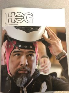 Steve Markiewicz – Avid Motorcyclist published in HOG Magazine