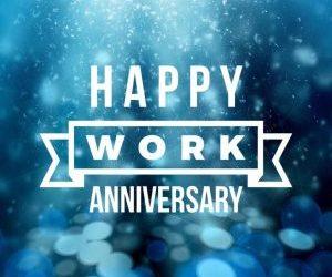 Several Employees Reach Milestone Work Anniversaries