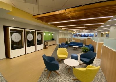 Berry Dunn North wing soft seating